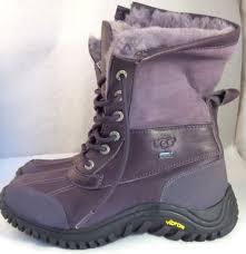 ugg australia s purple adirondack boots s ugg australia purple adirondack ii 2 event vibram sole