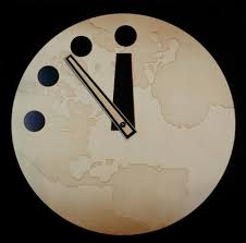 doomsday clock moves 30 seconds closer to midnight marking the