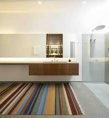 marcio kogan u0027s casa lee concrete house wooden and white bathroom