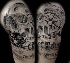 tattoos männer sprüche kompass bedeutung der motive bilder und coole designs