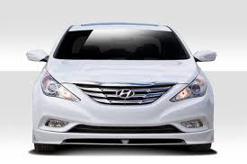 2011 hyundai sonata front bumper 11 13 fits hyundai sonata racer duraflex kit 112259
