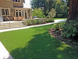 Synthetic Grass Backyard How To Install Artificial Grass Lucerne California Design Ideas