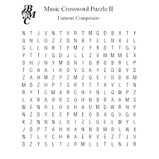 music word search ii famous composers u2013 learn to play