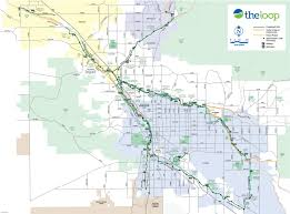 Map Of Arizona Cities Bike Maps Official Website Of The City Of Tucson
