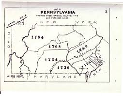 Pennsylvania Maps by Civil War Blog Historical County Maps Of Pennsylvania
