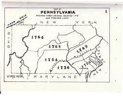 Gettysburg Pennsylvania Map by Civil War Blog Historical County Maps Of Pennsylvania