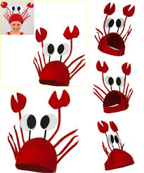 visit to buy halloween funny hats for party unique cute crab hat