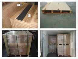 pvc wood vinyl flooring interlocking tiles with fiberglass plank