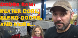 dodge ram heater replacement dodge ram heater blend doors and more part i