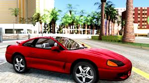 dodge stealth red dodge stealth rt twin turbo 1994 gta san andreas youtube