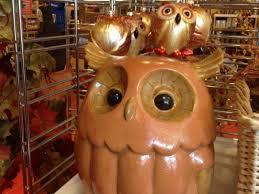 interior beautiful owl home decor thrift shop ceramic owl