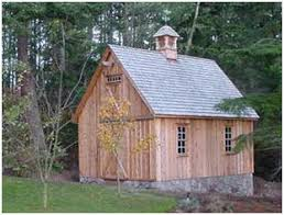 Tractor Barn The Candlewood Mini Barn Can Be Built As A Garage Workshop Shed