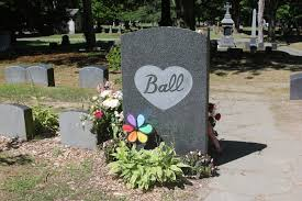 image gallery lucy ball grave