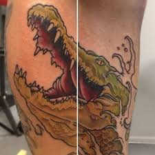 36 best traditional crocodile tattoo images on pinterest