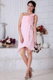 empire linie tragerlos knielang tull brautjungfernkleid mit drapiert p662 die besten 25 rosafarbene kurze kleider ideen auf