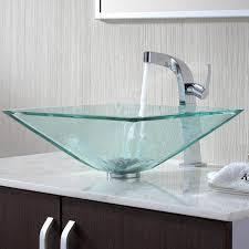 Bathroom Vanity New York by Vessel Sink U0026 Typhon Faucet Modern Bathroom Sinks New York By
