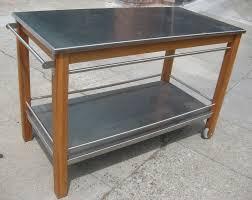 stainless steel islands kitchen kitchen carts islands work tables and butcher blocks regarding