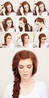 easiest type of diy hair braiding bohemian side braid hair tutorial beauty braid long hair braids