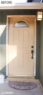 how to paint your ugly front door to add instant curb appeal post includes tutorial