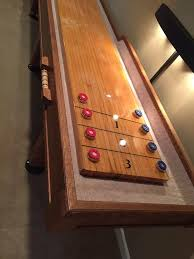 shuffleboard table for sale st louis custom crafted shuffleboards home facebook