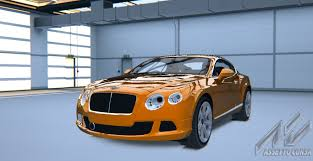 bentley orange bentley continental gt bentley car detail assetto corsa database