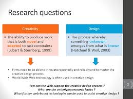 creative design brief questions the world wide web as a tool for creative design current issues and