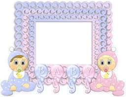 transparent pink and blue png baby frame gallery yopriceville