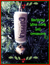 make it easy crafts recycled wine cork christmas bell ornament