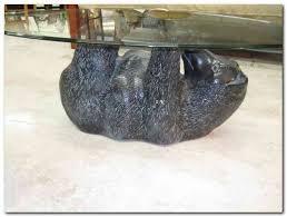 black bear coffee table interesting bear coffee table with black bear coffee table glass top