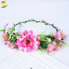 floral headband aliexpress buy xinyun headband flower wreath