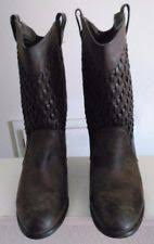 womens mid calf boots size 9 forever 21 s leather boots ebay