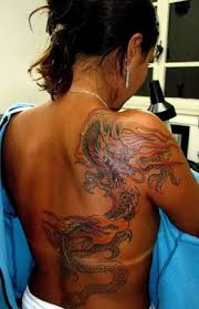 butterfly tattoo design dragon tattoos on back