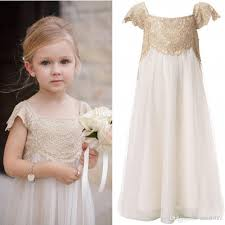 Flower Girls Dresses For Less - aliexpress com buy beach wedding flower dresses a line