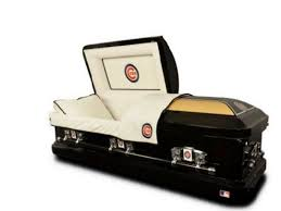 caskets for sale holy cow cubs casket and urn sales show thanks to world