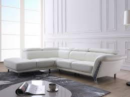 canapé ivoire canapé d angle gauche talma en cuir et coloris ivoire pas cher prix