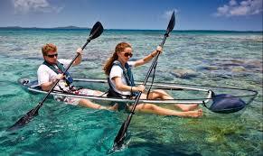 snorkeling on your kayak