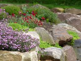 Rock For Garden Creating And Structure With A Rock Wall Garden Garden Therapy