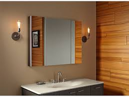 How To Replace A Medicine Cabinet Mirror K 99010 Verdera Medicine Cabinet With Triple Mirrored Doors Kohler