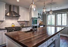 walnut kitchen island walnut kitchen island transitional kitchen atlanta by j