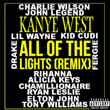 All Of The Lights Kanye West All Of The Lights Kanye West Album Cover