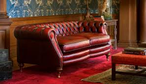 Red Leather 2 Seater Sofa Chesterfield Sofa Leather 2 Seater Red Sebastian Fleming