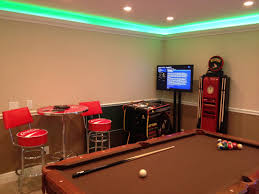 Convert 2 Car Garage Into Living Space by Florida Villa Services Inc Game Rooms