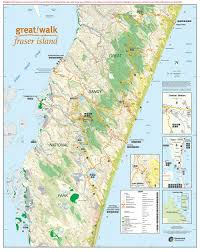 Happy Maps Map U2013 Fraser Island Taxi Service