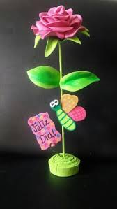 imagenes con flores azules dia de la maestra rosa con mariposa feliz día mamá en foami o goma eva cositas en