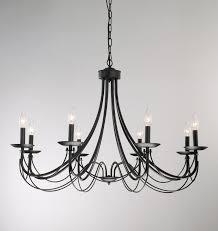 Lighting Chandelier Iron 8 Light Black Chandelier Overstock Shopping Great Deals