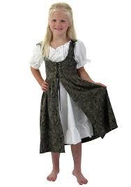 Renaissance Halloween Costume Girls Renaissance Faire Costume Girls Kids Brides