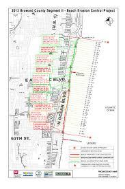 Map Of Pompano Beach Florida by Jacksonville District U003e Missions U003e Civil Works U003e Shore Protection