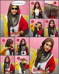 tutorial hijab segitiga paris simple tutorial hijab segitiga modern tutorial hijab dy