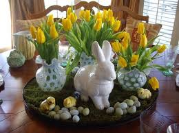 Traditional Easter Table Decorations by Vintage Easter Decorations U2013 Country Design Home