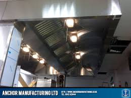 Commercial Kitchen Hood Design by A Kitchen Canopy And Hood In Sheffield Stainless Steel For A Food